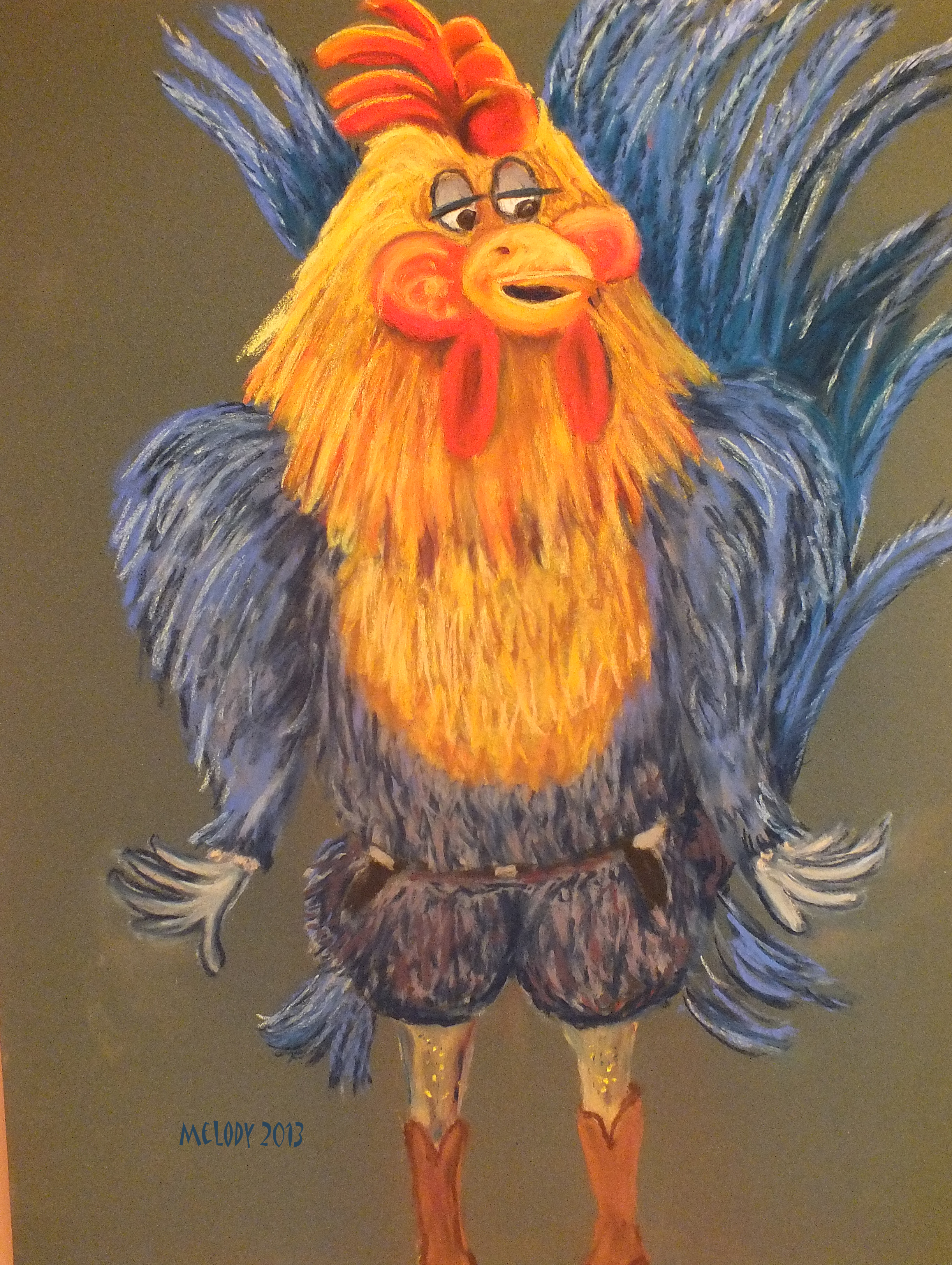 A GMO Time Traveling Fowl