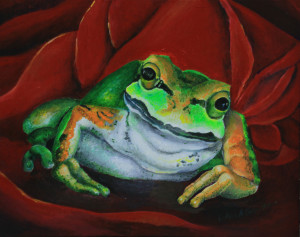 Rosie Bud  the Tree Frog